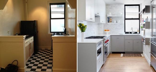 Malá farebná premena v kuchyni