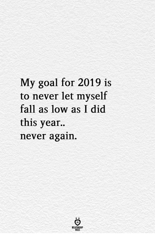 My goals for 2019