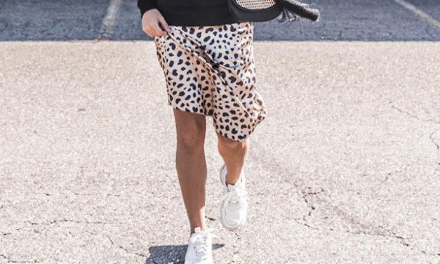 Spring trends: white sneaker