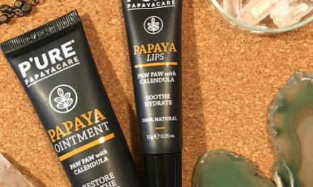 Kosmetické okénko – PURE PAPAYACARE