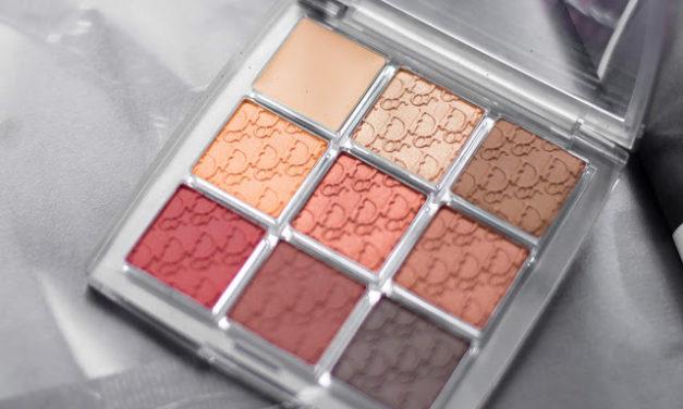 Paletka Dior Bckstage 003 Amber Neutrals || Recenze & Líčení