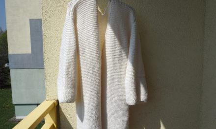 … hrubý svetr …