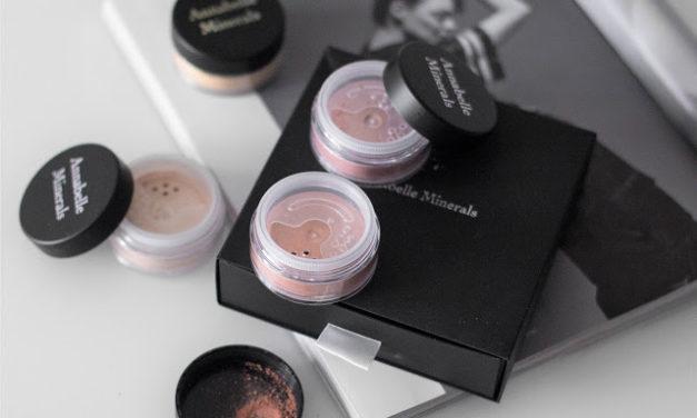 Minerální rozjasňovače & tvářenky Annabelle Minerals || Recenze