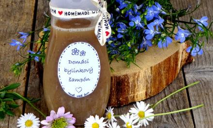 Domáci  bylinkový šampón