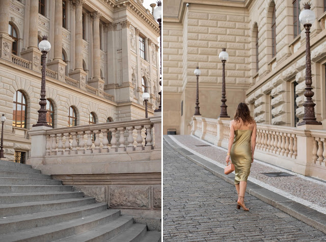 Summer must have: satin slip dress