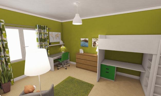 Nový pokojíček