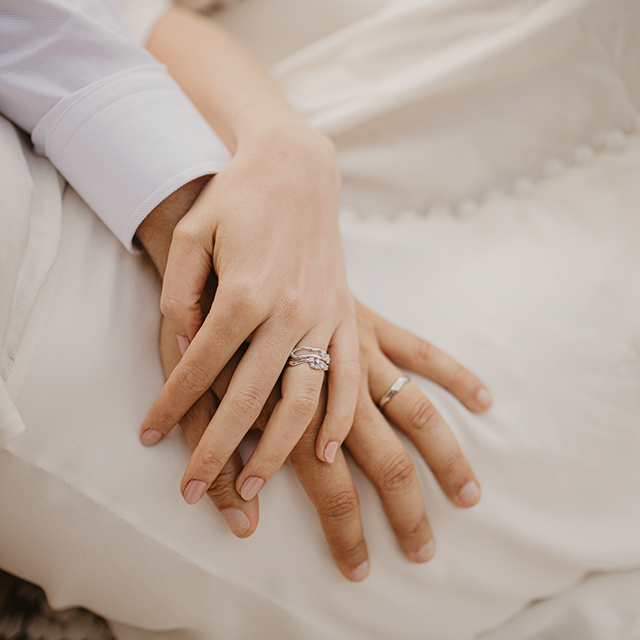 Wedding stories: naše prstýnky