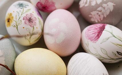 Akvarelová vajíčka